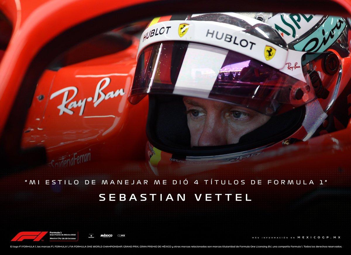 Debido a las críticas que está recibiendo Vettel por su forma de conducir, esto es lo que dice el piloto alemán ⬇ ¿Tú qué piensas? #F1
