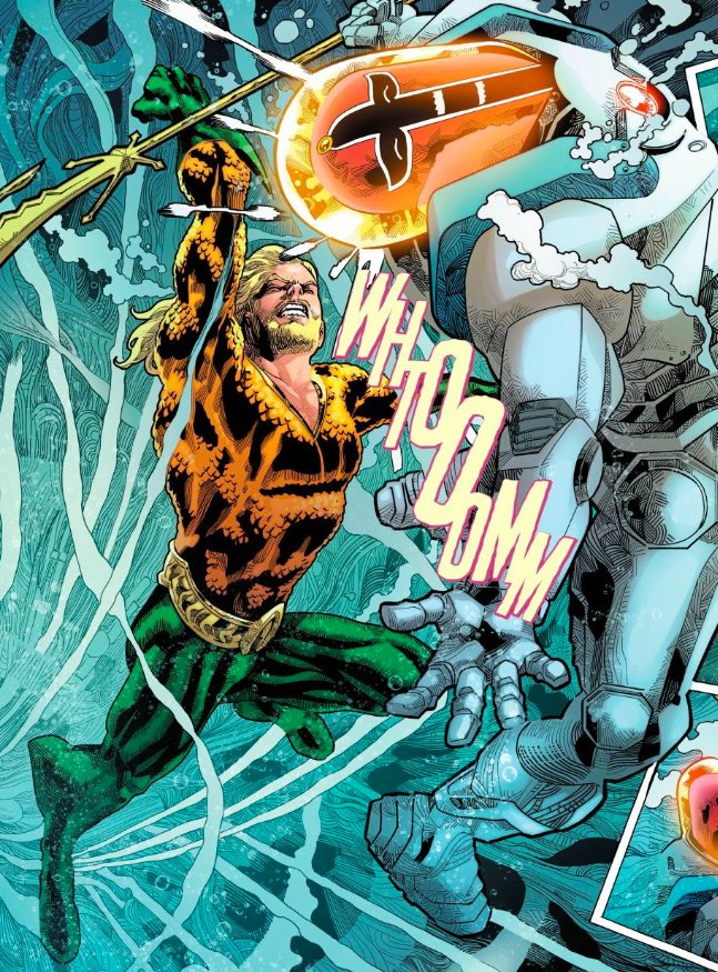 Its a battle of land vs. sea as Satanis and Aquaman square off for the fate of Atlantis! What did you think of AQUAMAN #40?