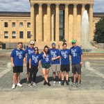 #YLGlobal5k runners in Philadelphia made it look like a walk in the park - or a run up the Rocky steps! :)   Well done and thanks Philadelphia!