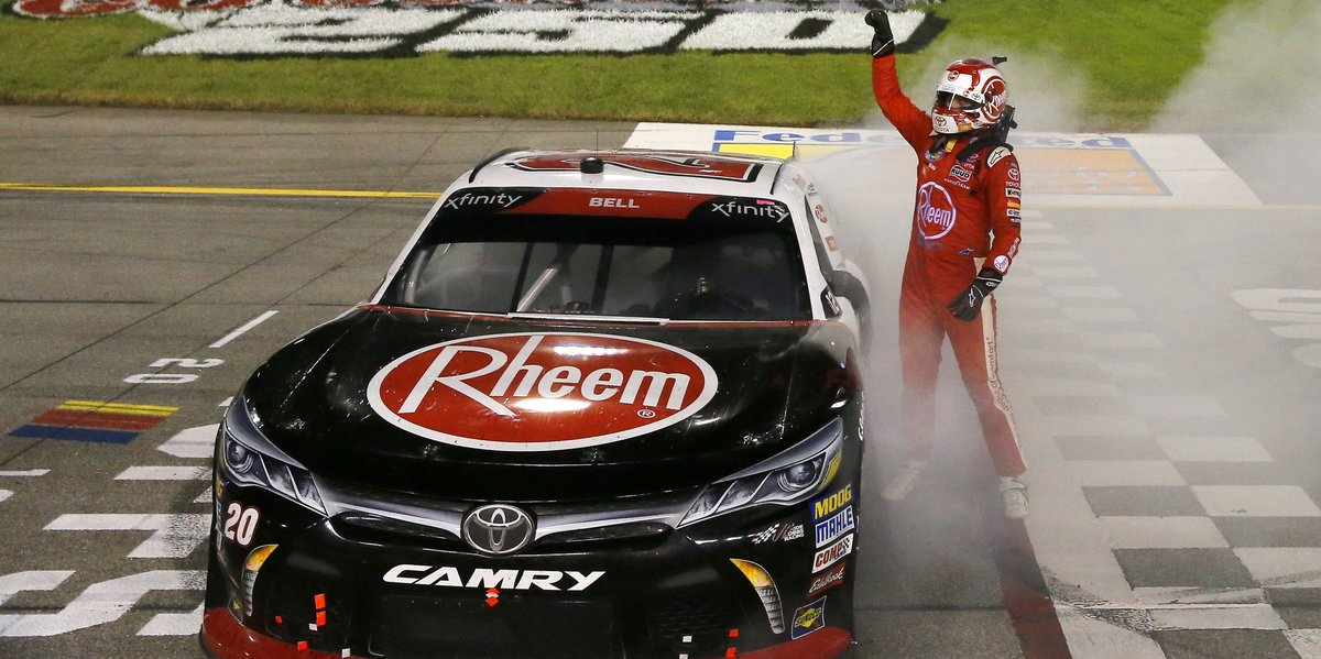 Bell Advances In Xfinity Playoffs With Richmond Win Http://tinyurl.com/