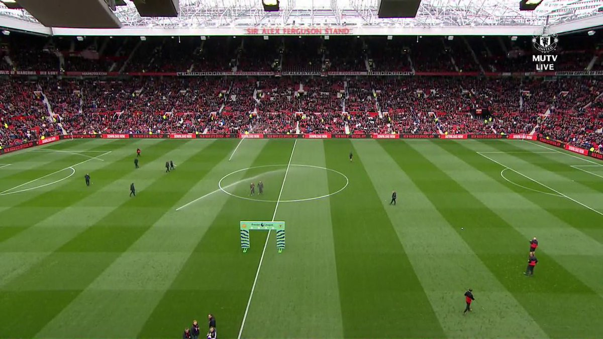 A special moment at Old Trafford. #MUFC