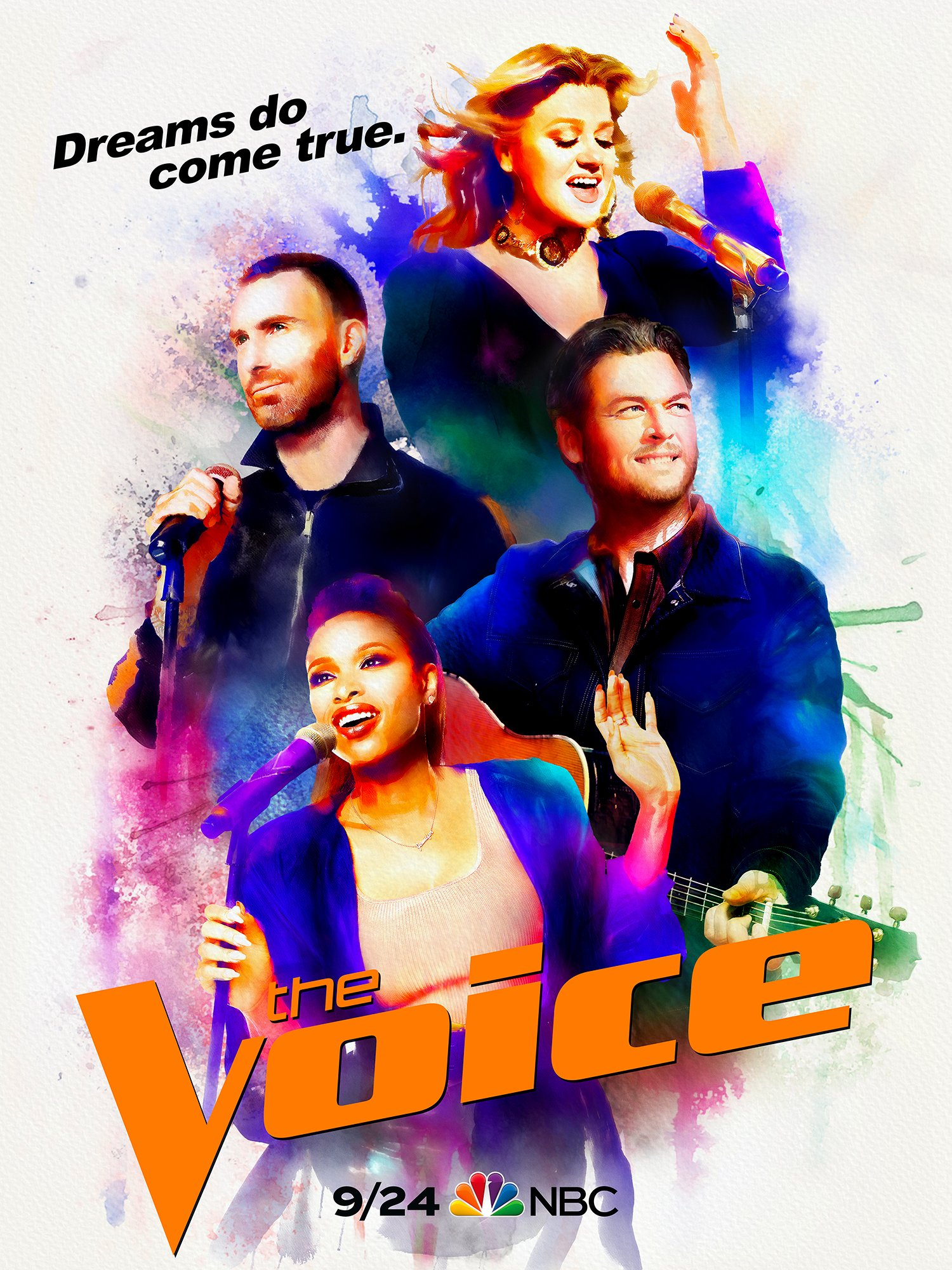 MONDAY your favorite team is back! @NBCTheVoice #TeamBlake!!– Team BS https://t.co/3jniU916f7