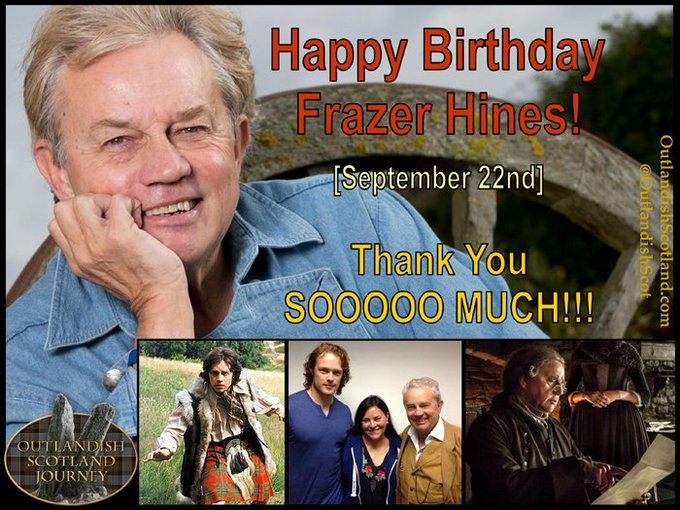 Happy Birthday to Frazer Hines!