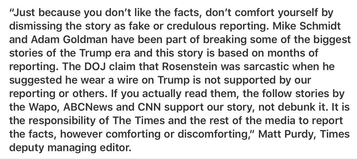 To the critics of The New York Times Rosenstein story...