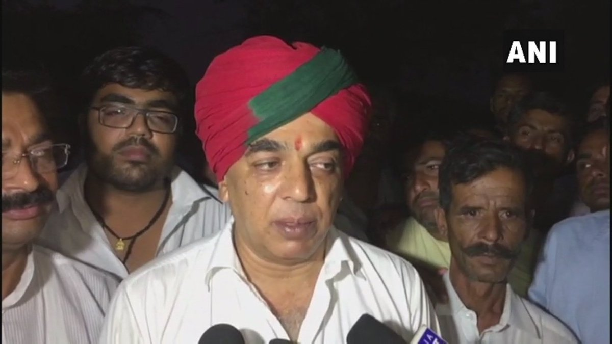 I would like to thank my supporters. I will do whatever they ask me to do. Their decision is my decision but I will ask everyone: Manvendra Singh, MLA and senior BJP leader Jaswant Singh's son who quit BJP today, when asked if he will now join Congress party #Rajasthan