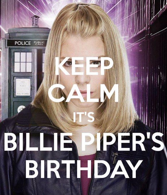 Happy Birthday Billie Piper!
