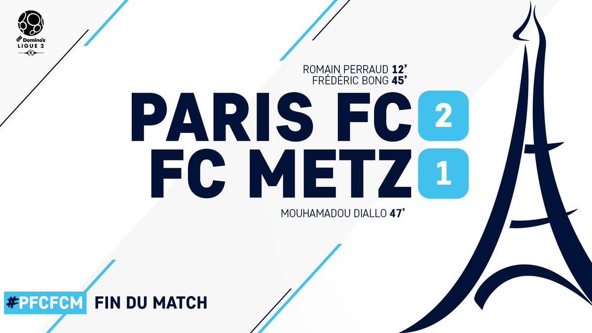 Paris FC-FC Metz