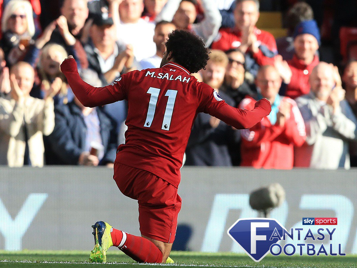 ⚽️ Salah's scored.  😲 Shock horror. #LFC