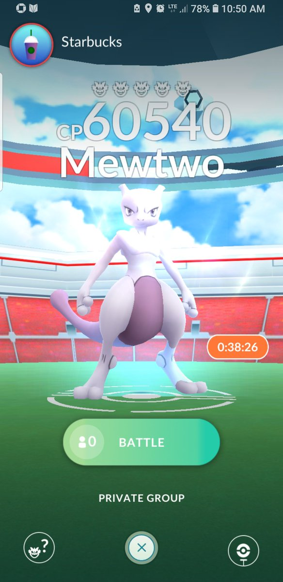 Ugh the feeling of disappointment when you actually find a Mewtwo but with no one to help you fight him. #PokemonGO