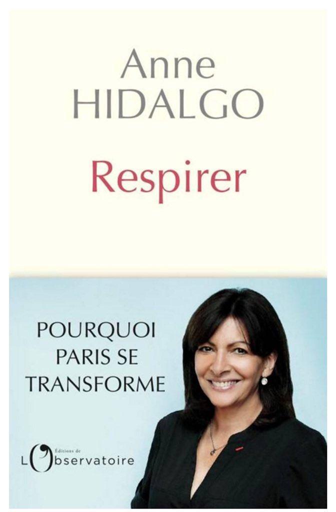 Ce soir, je serai l'invitée du journal de 20h de @LaurentDelahous, en direct sur @France2tv, pour présenter mon livre #Respirer et rappeler mon engagement total pour un #Paris durable. A ce soir !