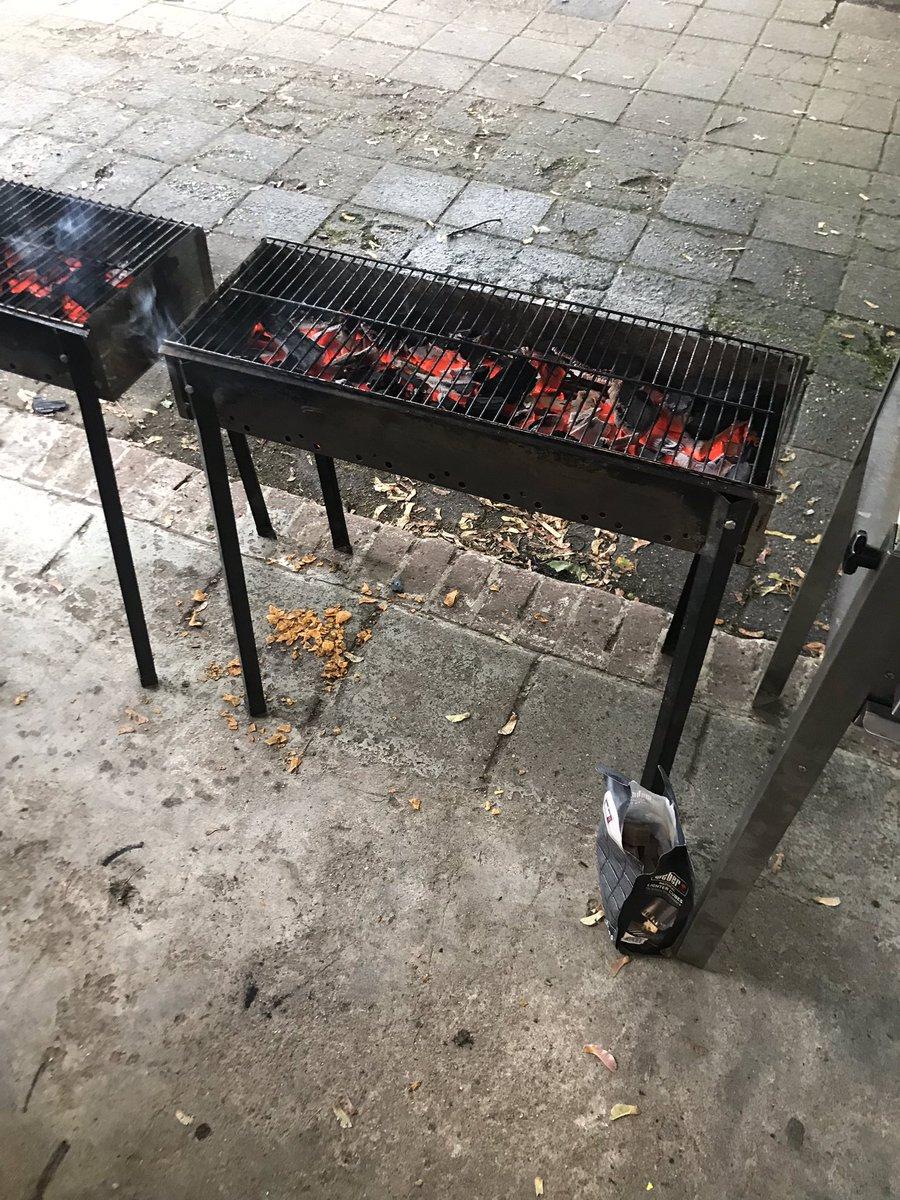 Na Ste Marie, Vogelnest, Colijnstraat nu als afsluiting buurtbarbecue Finse school. #burendag2018 Prachtig al die buurtinitiatieven!