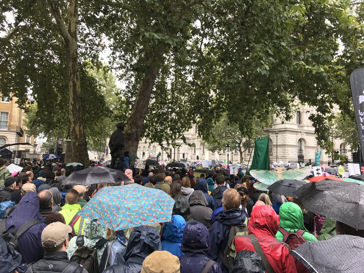 Lets go away and make this work! @ChrisGPackham 22/09/2018 at the #PeoplesWalkForWildlife RT if YOU will be doing your bit to make this work for nature and for Homo sapiens a species that needs this to happen NOW more than EVER!