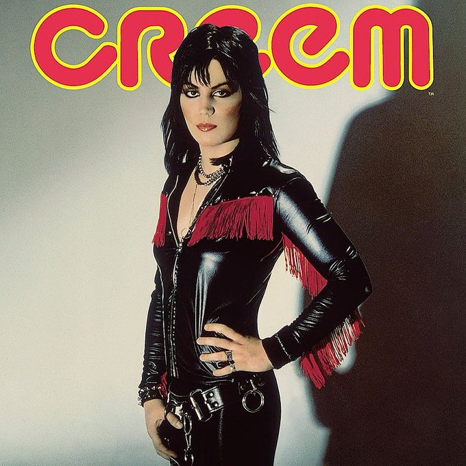 Happy 60th birthday to Joan Jett! She\s still the coolest of all.