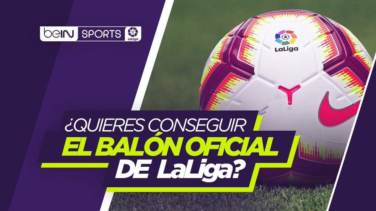 🎁⚽ REGALO | ¿Quieres el balón oficial de @LaLiga?   Requisitos para optar a él:   📌 Hacer RT 📌 Seguir a @beINSPORTSes   La mejor liga del mundo está aquí: http://bein.click/gbwdg   #beINLaLiga