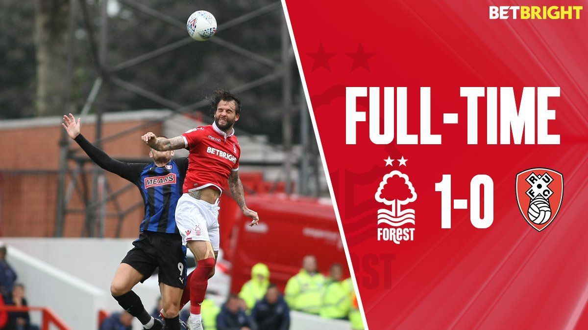 Full-time: #NFFC 1-0 Rotherham (Grabban pen 86')  Report and reaction to follow from The City Ground...