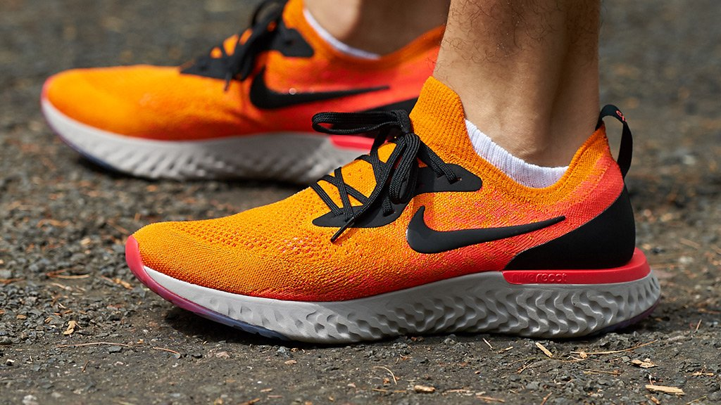 3d15b2eaac4d9 Get a soft and springy sensation for miles and miles with the Nike Epic  React Flyknit. Available now in men s and women s sizes.