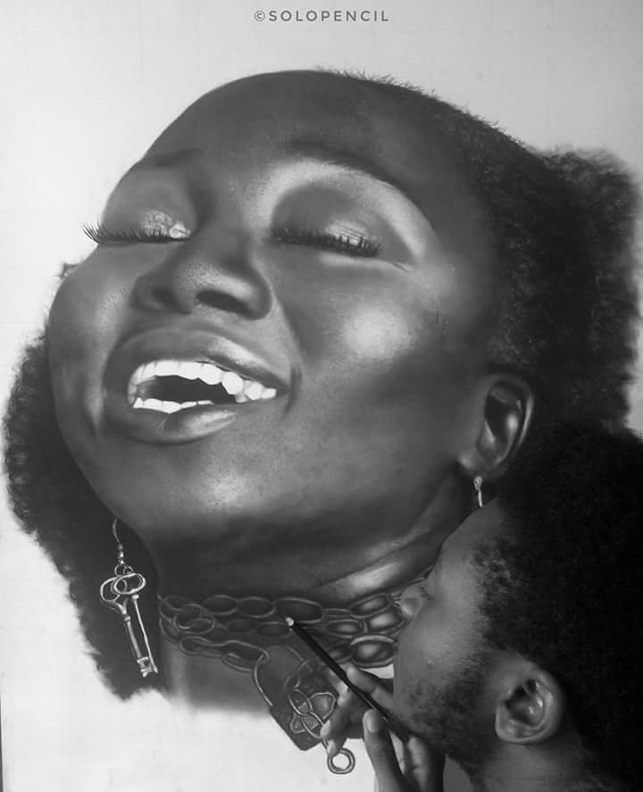 My name is Okeuhie Solomon, a visual artist from Nigeria and these pieces were meticulously drawn with just PENCIL!  No PHOTOSHOP!!  No EDIT!!  Just PENCIL!!  Please kindly RT #UnitedAfricanCreatives  #WeAreNigerianCreatives  #weekendvibes  #SnapAndSend<br>http://pic.twitter.com/G3lGwvlWiK