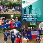 Dallas! We knew they'd conquer #YLGlobal5k rain or shine! Thanks for coming out this morning and making a difference for the work of @TheIrelandFunds ! Huge thanks to sponsors Curley Financial Group and @KatyIceHouse