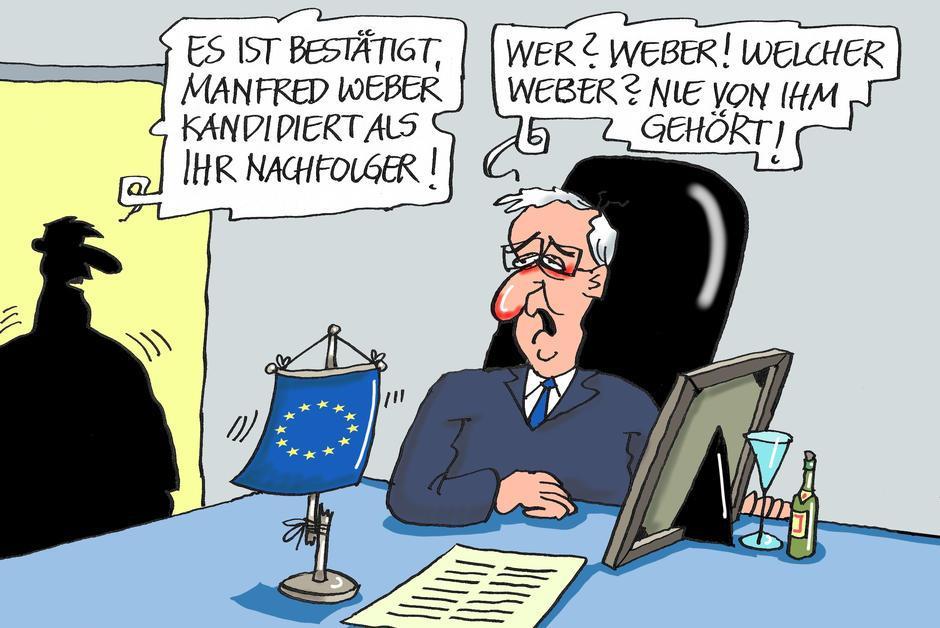 Union européenne. Weber sera-t-il le prochain Juncker ? https://t.co/6Zzmh2UrkW #PartiPopulaireEuropéen #CommissionEuropéenne #Européennes2019