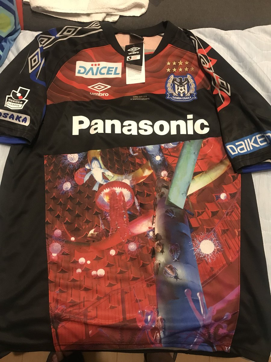 Japan Football Shirts On Twitter Thread Gamba Osaka Gamba Expo Shirt To Be Worn Against Sanfrecce Hiroshima On September 29 Superb If You Ordered This It Will Hopefully Be With Me