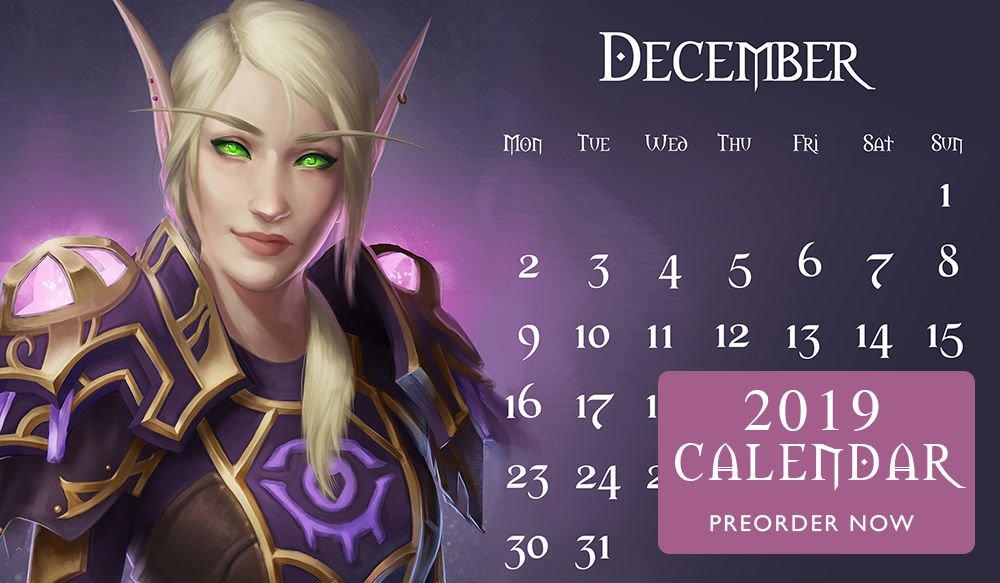 December Elf Calendar 2019 Naariel 🐶 on Twitter: