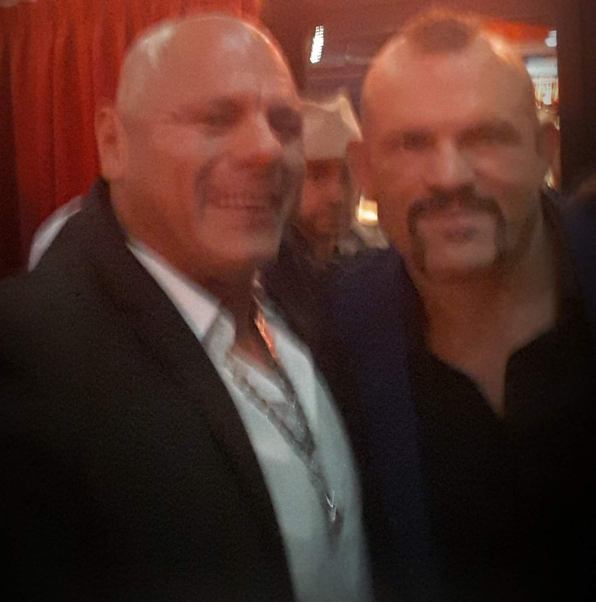 Mariano and Chuck Liddell..Silencer Premire .