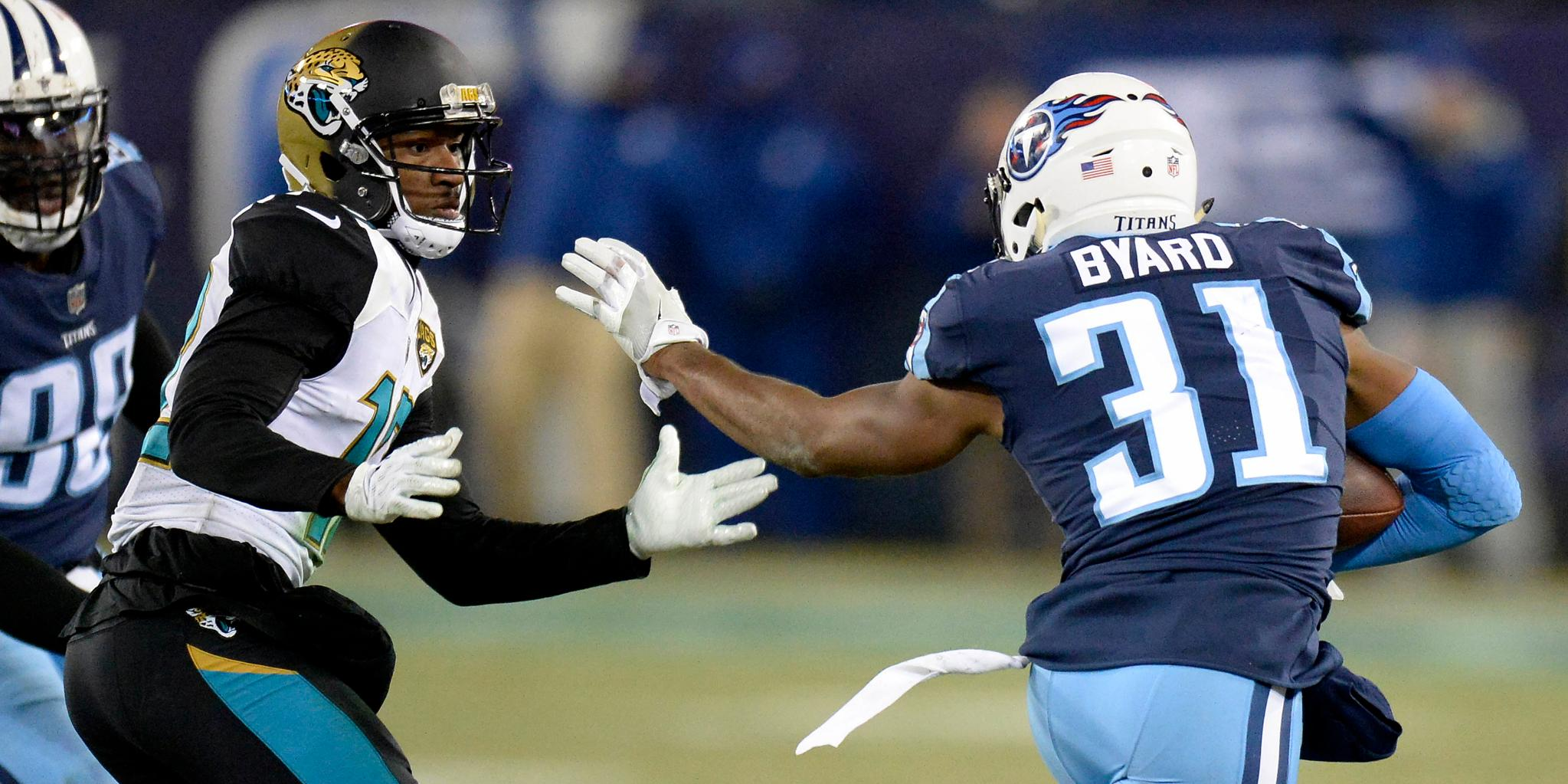 The @Titans beat the @Jaguars twice in 2017.  The Jags hope to fix that: https://t.co/4OFJRkcSCx https://t.co/UcCDZTb8hS