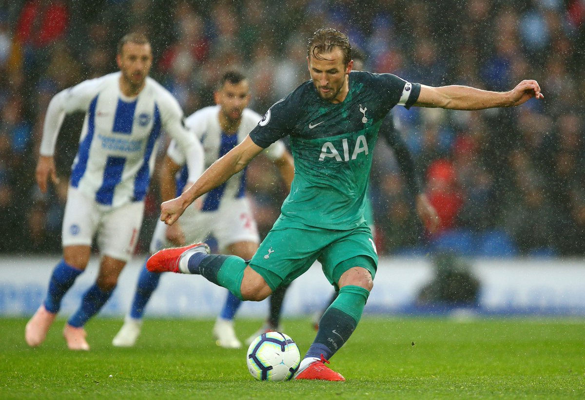 13 - Harry Kane has scored more penalties than any other player in the Premier League since the start of the 2015-16 season (13 penalties). Slotted.