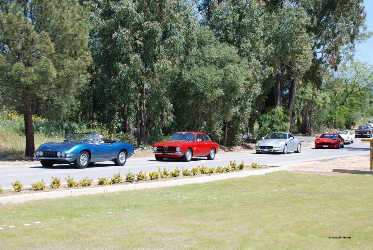Sfilata di bellezze storiche.... #Fiat #Dino #Alfa #AlfaRomeo #GT #Maserati #Ferrari #Jaguar #Classic #Vintage #Oldtimer #AAESardegnaCA #AAE  - Ukustom