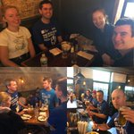 Thx @coopersnyc for a great post-5K brunch #YLGlobal5K -that's all from NY (for now)