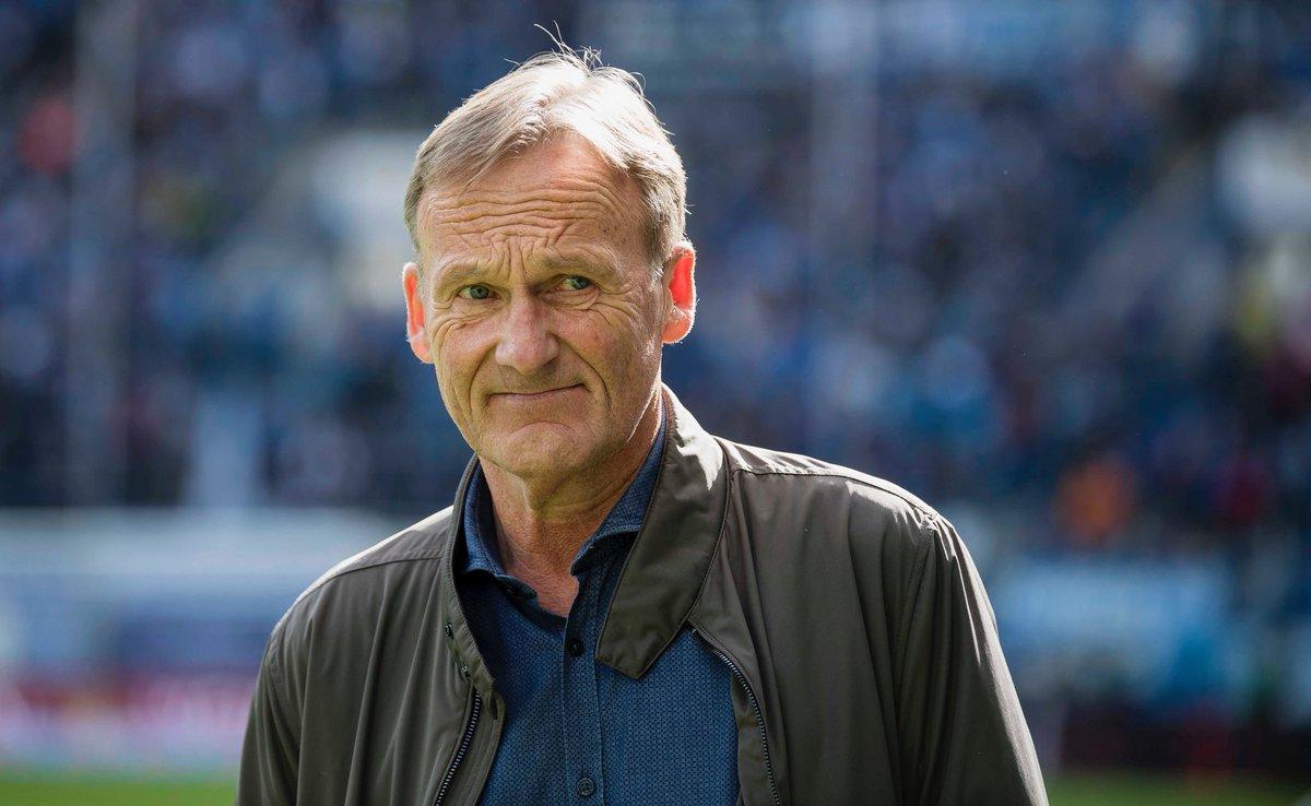 Borussia Dortmund в Twitter Hans Joachim Watzke Ich Möchte