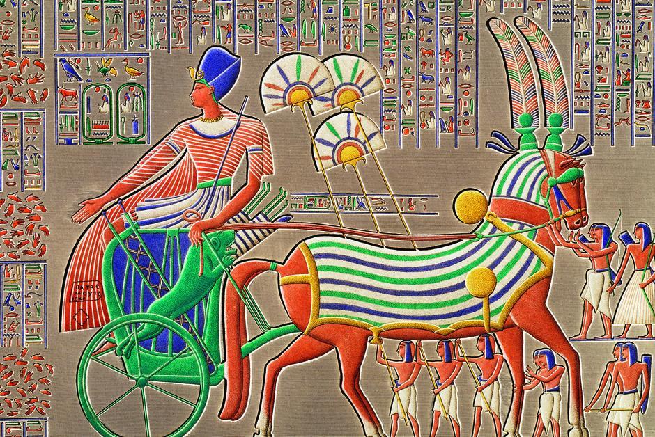 Histoire. Le char, signe extérieur de richesse dans l'#Égypte antique.  Un article issu de notre dernier numéro, 'Amazonie, le labo du futur', disponible en kiosque 🗞ou en version numérique 💻➡ https://t.co/Mr2qMS0Fs3 https://t.co/GD7AvlWycA