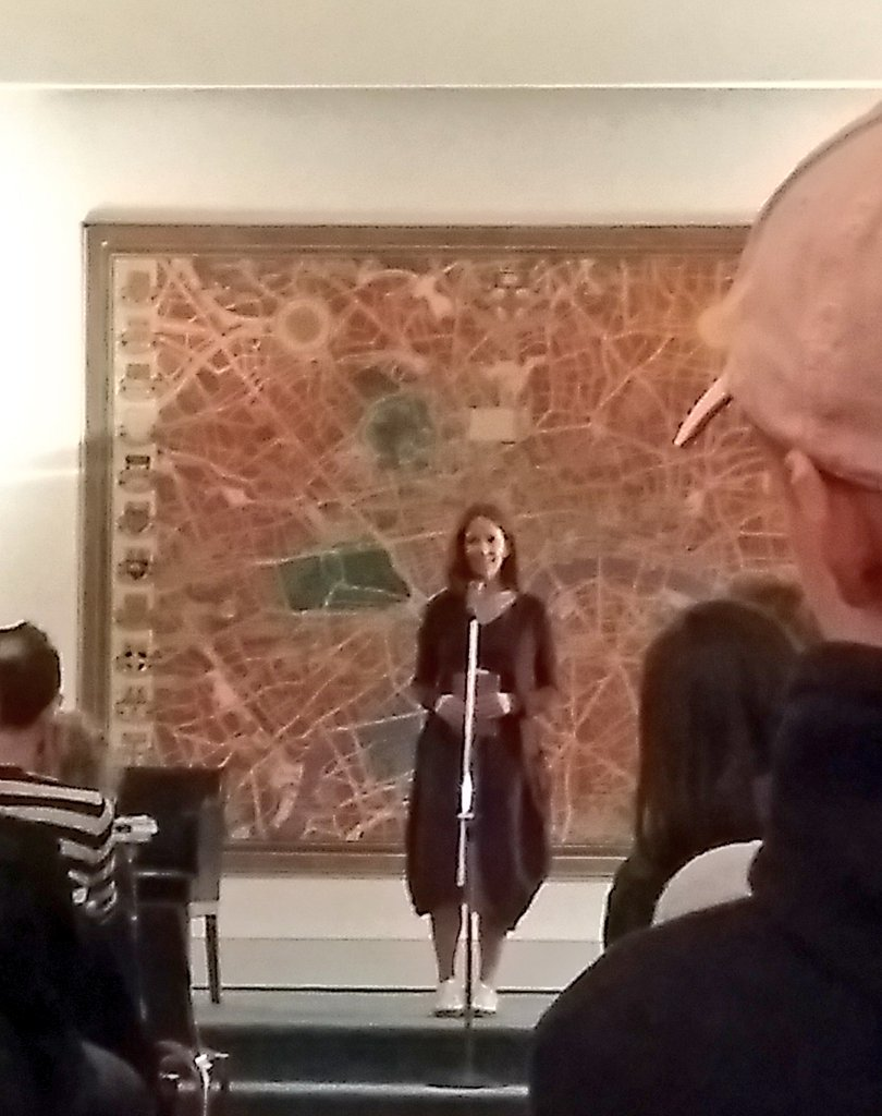 test Twitter Media - And so it begins - a UK first as US poet Chelsey Minnis reads at Senate House, rounding off #freeverse18 🎉 https://t.co/xFZ54EXWzS