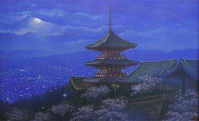🎨Nori Shimizu • Lights of Kyoto •