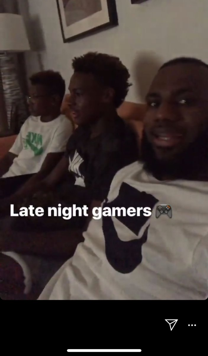 So, yeah, LeBron James and his boys are playing #SpiderManPS4. OMG!!!
