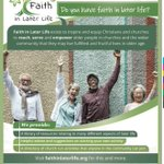 Image for the Tweet beginning: Do you have #faithinlaterlife?