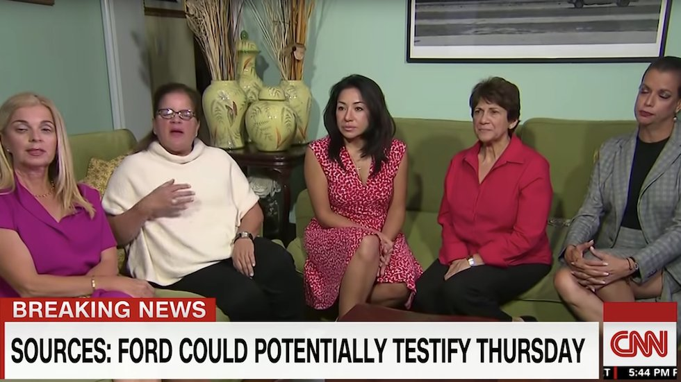 Republican women defend Kavanaugh: 'What boy hasn't done this in high school?' https://t.co/yMLe5bdVSa https://t.co/sjRnnhdZ8c