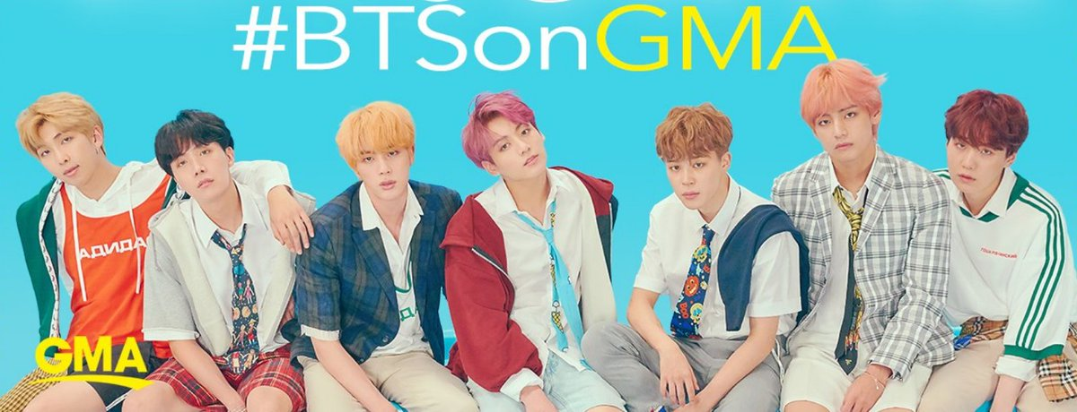 #BTS FANS! TWEET US a video shouting 'GOOD MORNING AMERICAAAA!' in your native language! We may use your video on the air! Include this in the Tweet caption:  1️⃣WHAT LANGUAGE YOU'RE SPEAKING 2️⃣WHERE YOU'RE TWEETING FROM 3️⃣USE #BTSonGMAon@BTS_twtGhttps://t.co/dCuujVrRuKMA