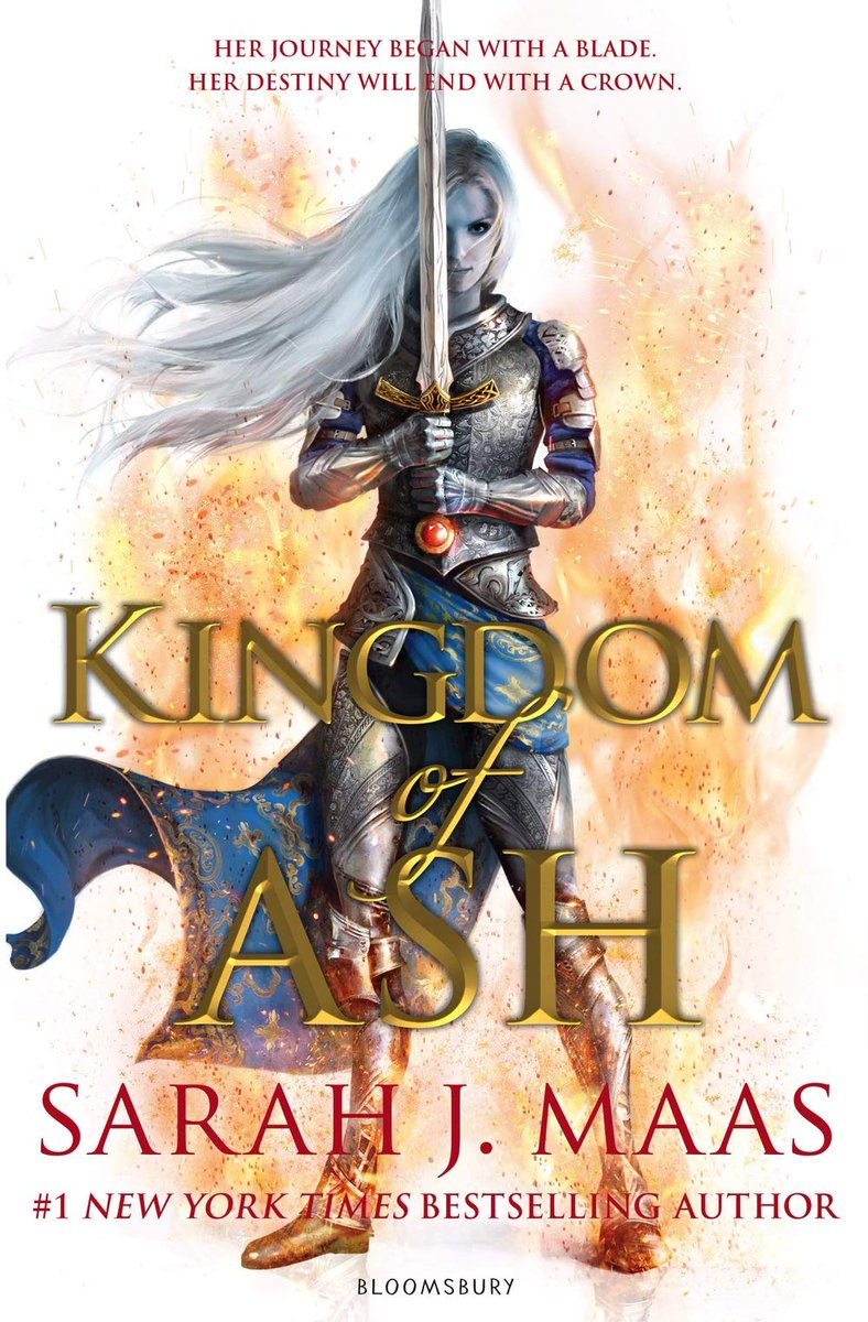 The epic conclusion to The Throne Of Glass series by Sarah  J Maas is almost here!  Her journey began with a blade. Her destiny will end with a crown.   Pre-order your copy of Kingdom of Ash now on our website   https:// bit.ly/2MUeFJx  &nbsp;     #KingdomOfAsh #SarahJMaas #books<br>http://pic.twitter.com/pB9SUQTKpw