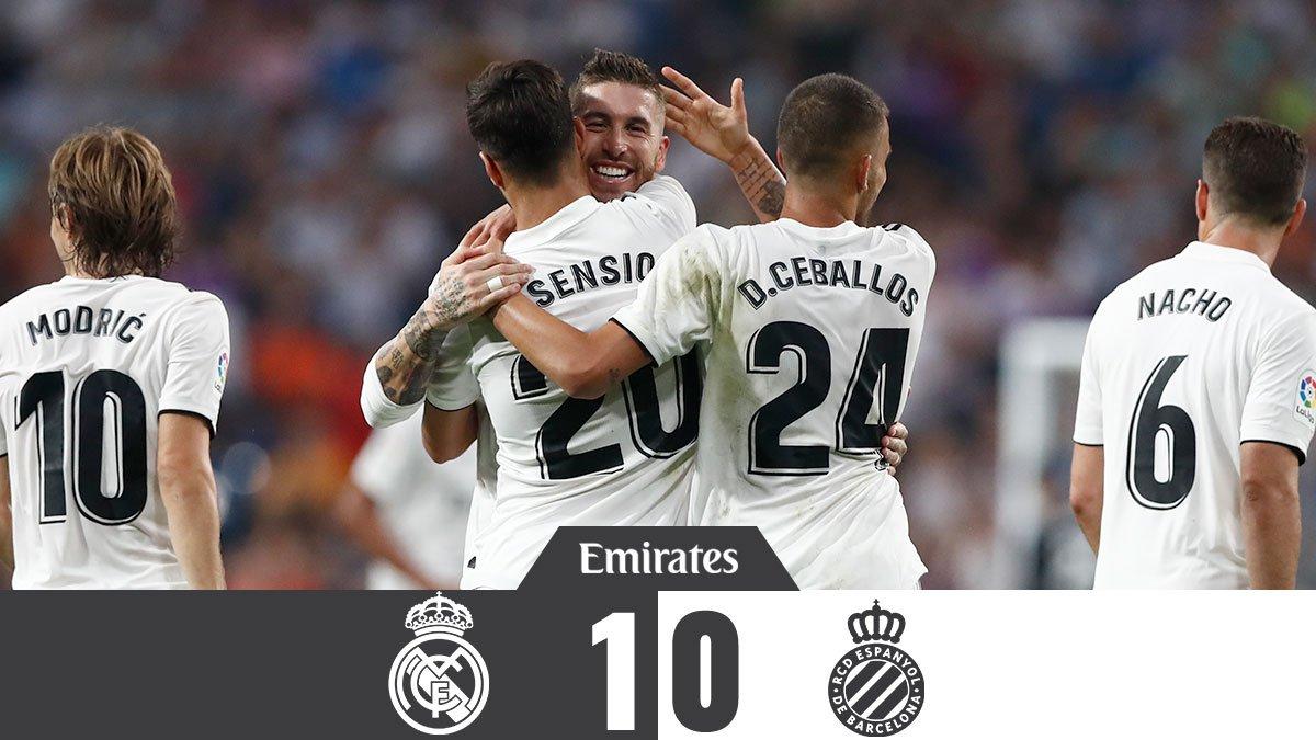 """1-0: """"რეალმა"""" შინ """"ესპანიოლი"""" დაამარცხა"""