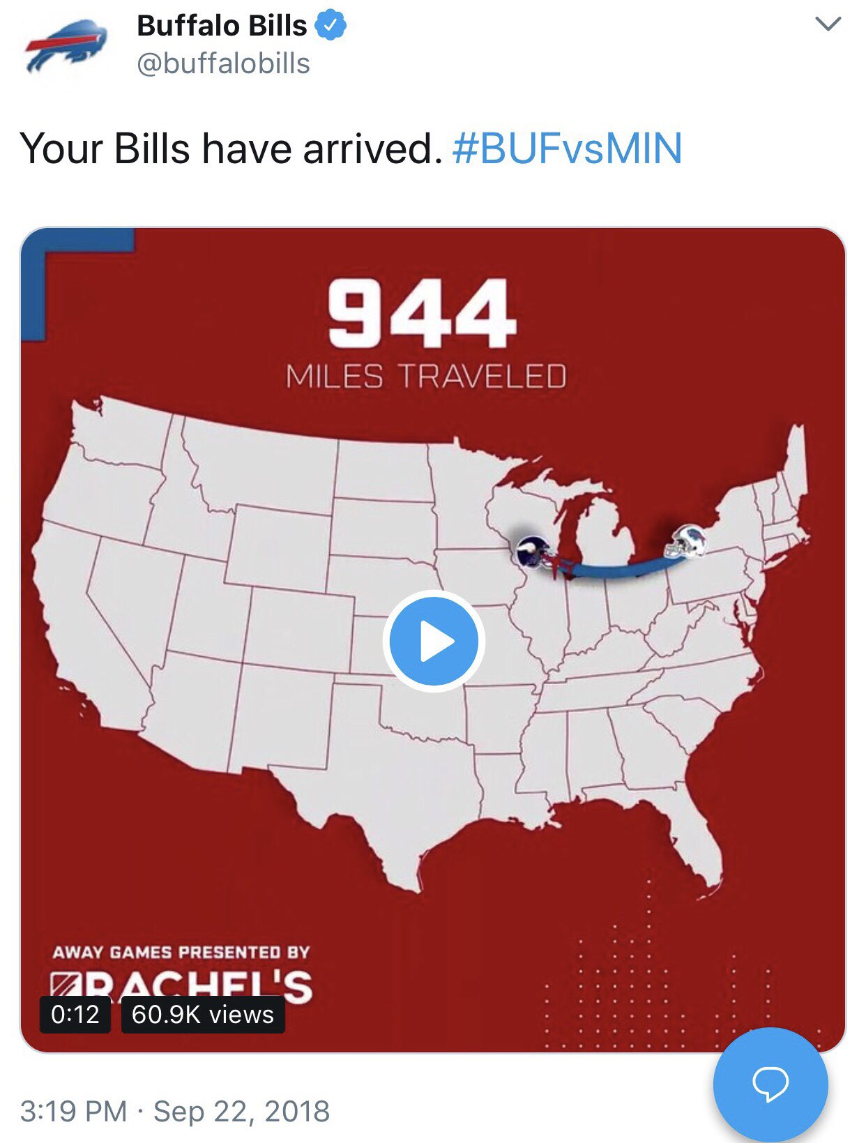 Can't get anything by us @buffalobills...  We actually play in the other Minnesota. https://t.co/zjSxrFyqot