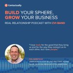 #Tools and #technology are great, but @PhilGerb likes the personal connection of a #facetoface #conversation and being around people. Check out more in this #realrelationships #podcast! https://t.co/MEhUz1qwFX