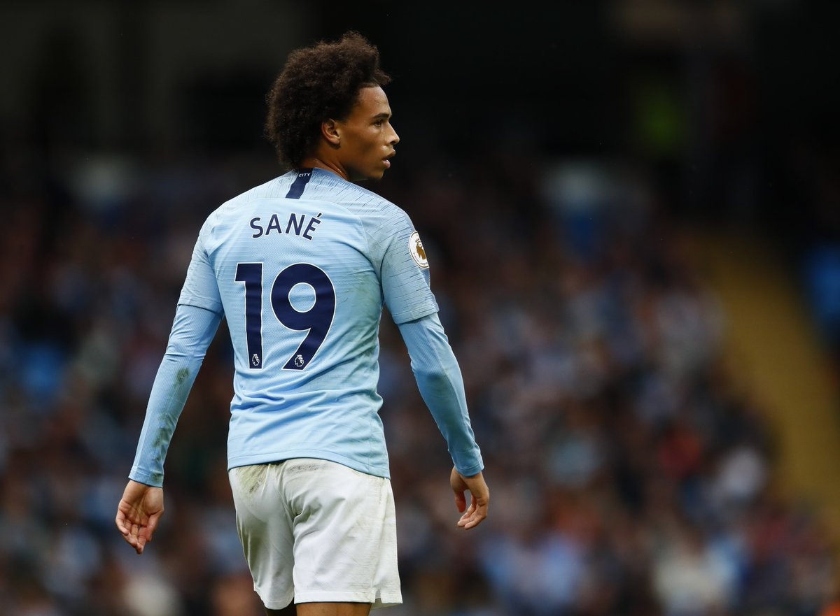 Most Premier League assists since the start of last season: Kevin De Bruyne (16) Leroy Sané (16) Raheem Sterling (12) Christian Eriksen (12) Mohamed Salah (11) Paul Pogba (11) David Silva (11) Two at the top pulling away.