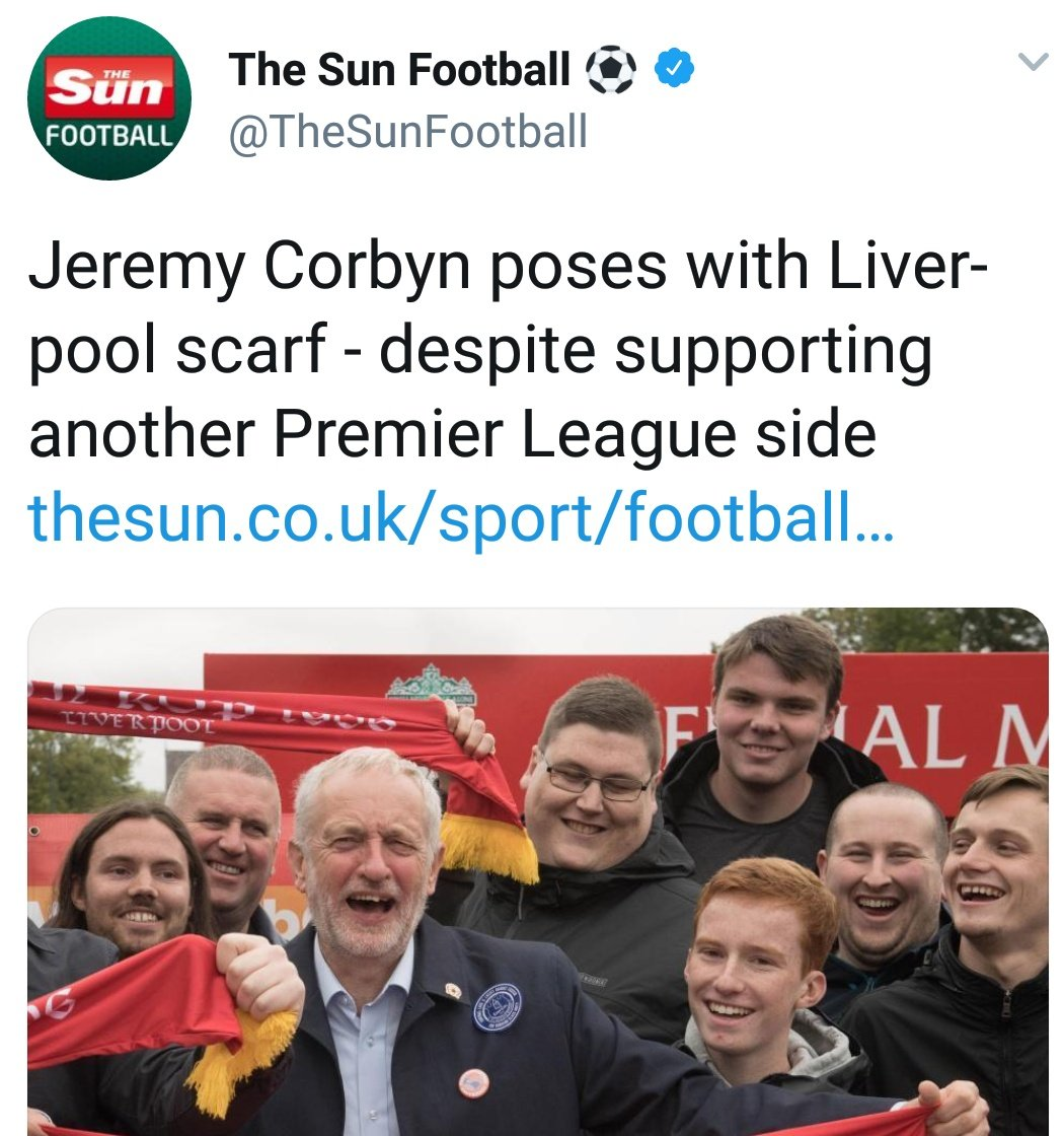 Are you really going there @TheSun? Really? He was there paying his respects to the Hillsborough victims. You do remember them right? The people you lied about. Absolutely appalling.