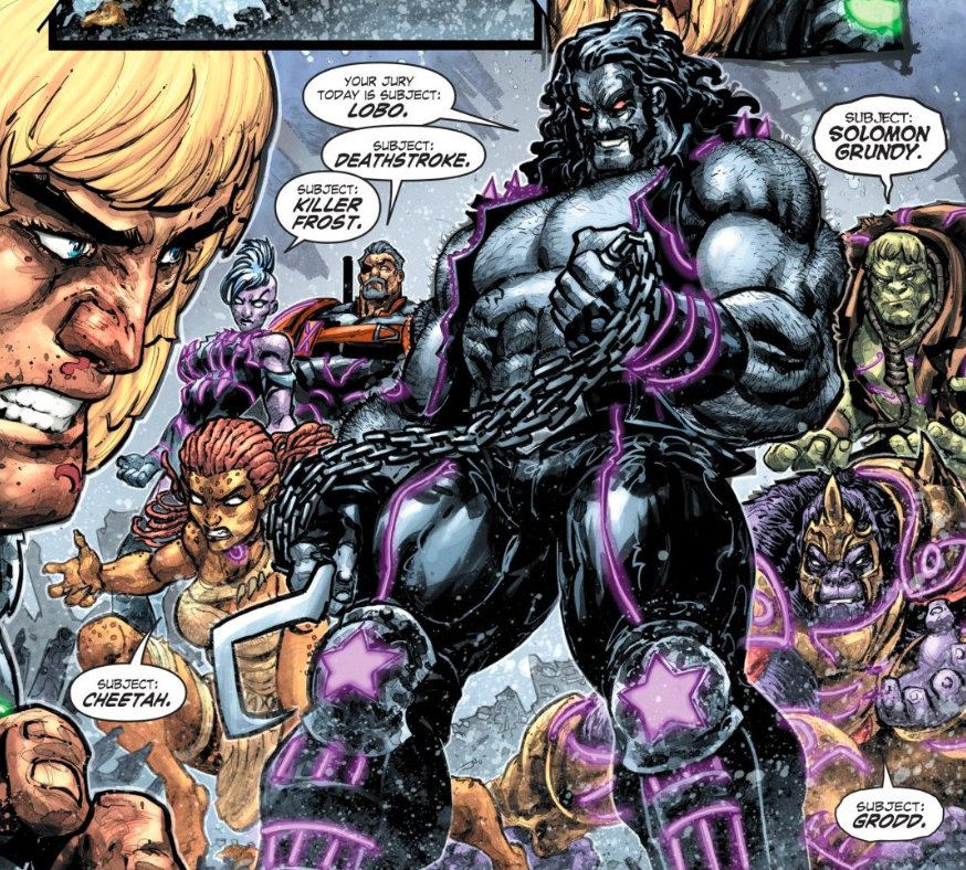 Prince Adam, you have been sentenced to death by The Regime. Now its time to meet your jury. Share your review of INJUSTICE VS. MASTERS OF THE UNIVERSE #3!