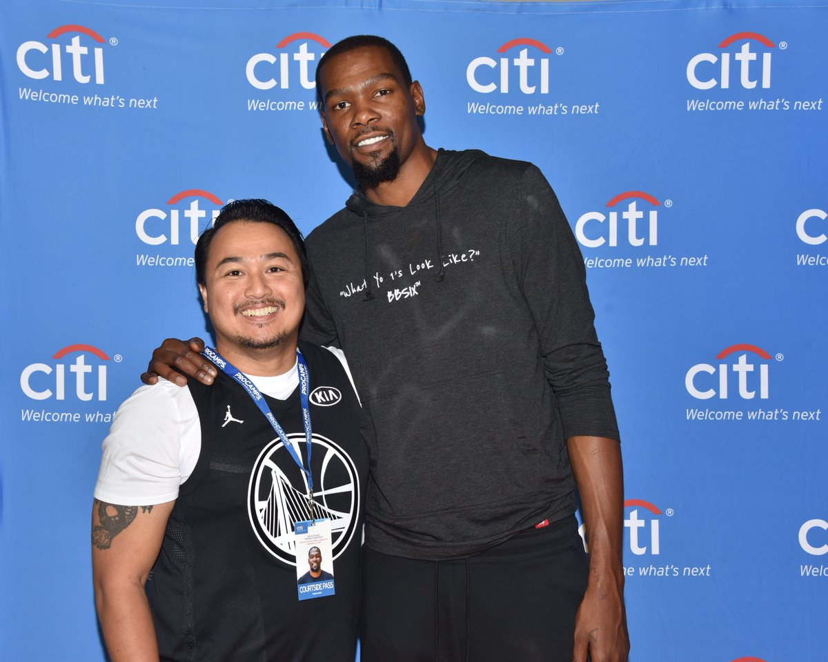 Cool getting to meet some #DubNation @CitiPrivatePass cardmembers at my Fantasy Experience today #CloserToPro