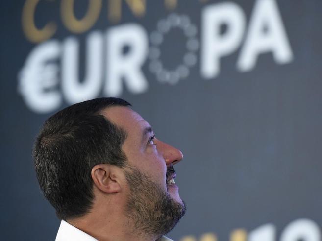 Salvini: «Il deficit non è un problema. Sprechi, tagli anche nella sanità» https://t.co/WfQO74nNw9
