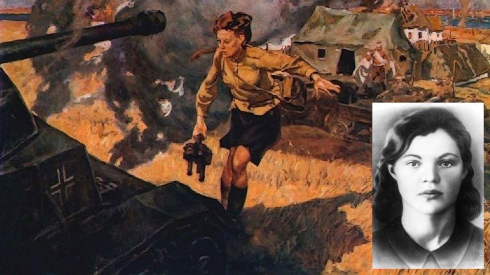 23 сентября 1943 в районе села Вербовое на Украине санинструктор Валерия Гнаровская со связкой гранат бросилась под немецкий «Тигр», прорвавшийся в расположение медсанбата. Спасая раненых, отважная девушка подорвала немецкий танк ценой собственной жизни