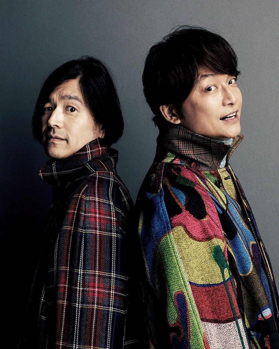 GQ JAPANインスタグラムをチェック!➡︎https://t.co/JgNIW01IKa  「ヤンチェ_オンテンバール」香取慎吾さんと祐真朋樹さんのツーショット📸 をUP!! #JANTJE_OTEMBAAR…