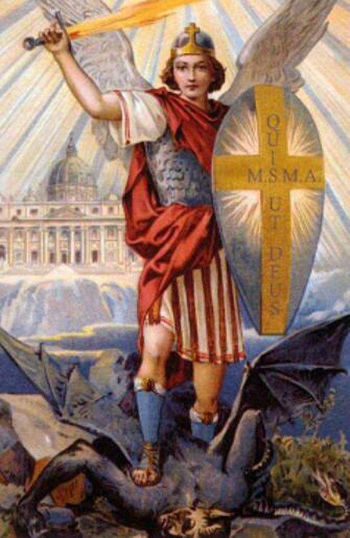 Dopo la Santa Messa rinnoviamo la preghiera a San Michele voluta da Papa Leone XIII nel 1886.#Gesù #Via #Verità #Vita #Salvezza https:// www.facebook.com/photo.php?fbid=2201156576593133&set=a.242597375782406&type=3&theater  - Ukustom